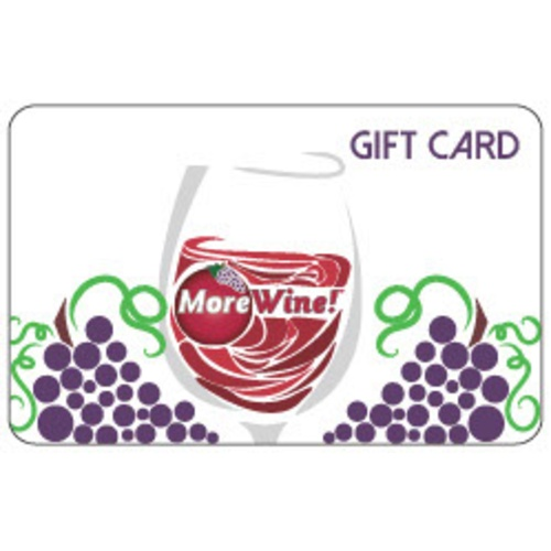 MoreWine!® Mailed Gift Card
