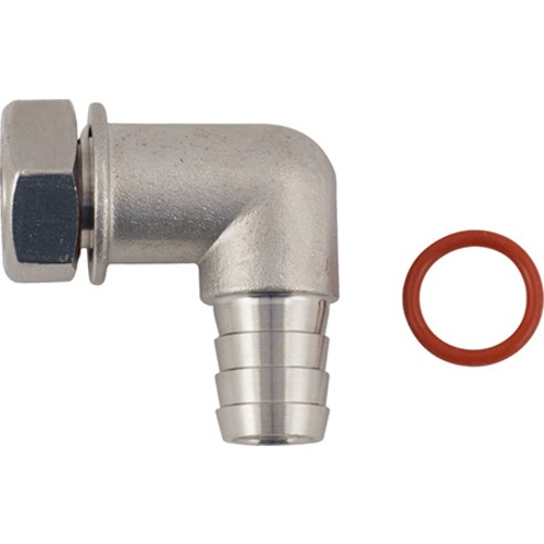 Hose Barb | 1/2 in Elbow for Blow-Off