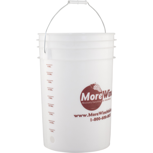 Bottling or Fermentation Bucket With Hole (6 Gallon)