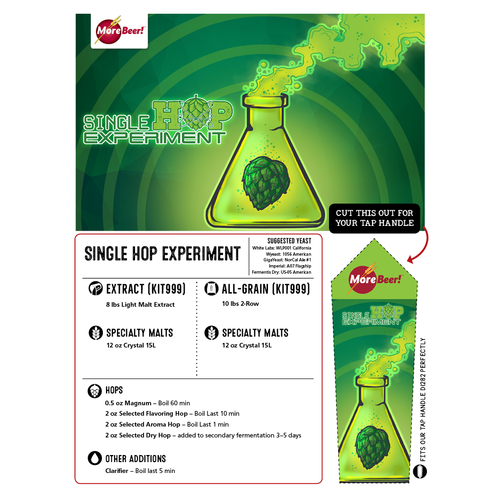 The Columbus Single Hop Experiment - Extract Beer Kit